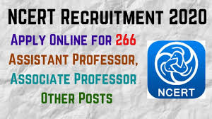 National Council of Educational Research and Training (NCERT) Recruitment for 266 Professor, Associate Professor and Others Apply Online @ncert.nic.in /2020/07/NCERT-Recruitment-for-266-Professor-Associate-Professor-and-Others-Apply-Online-ncert.nic.in.html