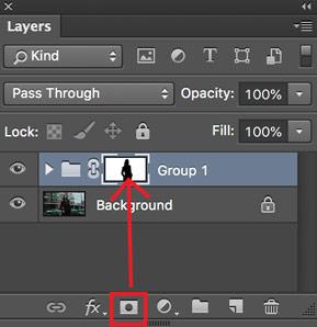 cara membuat tulisan di belakang objek foto