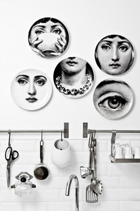 Wall decor: ideas para crear composiciones con platos