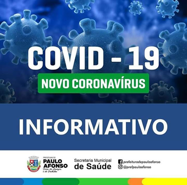 Paulo Afonso/BA registra mais dois  casos em investigação do Coronavírus