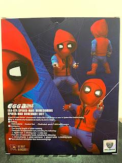 EGG ATTACK ACTION EAA-074 蜘蛛人 : 返校日 自製戰衣 包裝盒