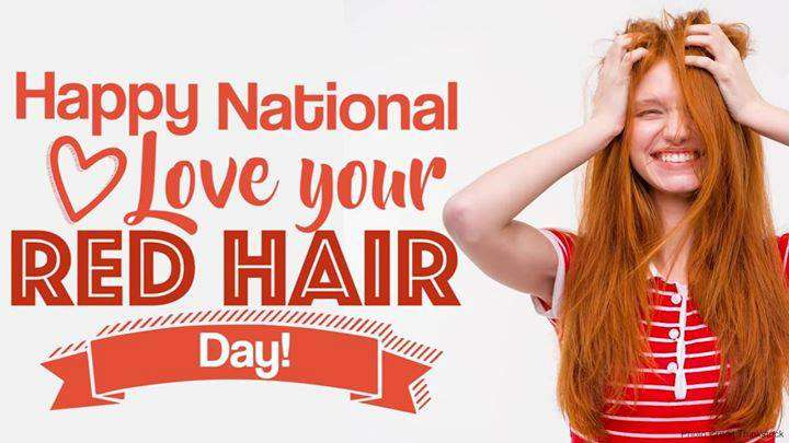 National Love Your Red Hair Day Wishes Lovely Pics