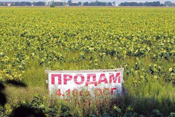 О грядущей продаже земли вна Украине. Александр Роджерс