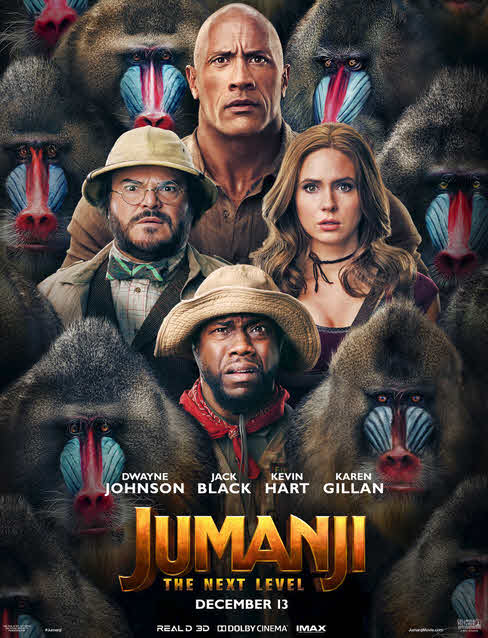 فيلم Jumanji 2 The Next Level 2019 مترجم