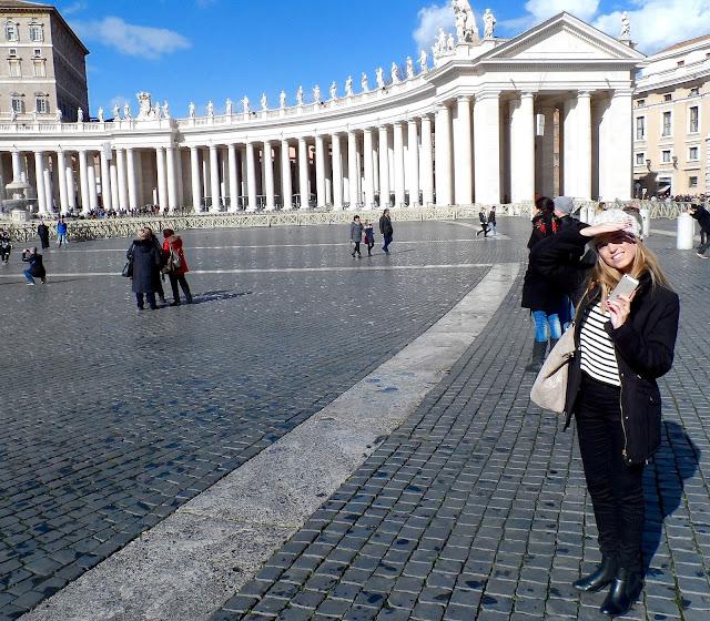 Blogger in Rome