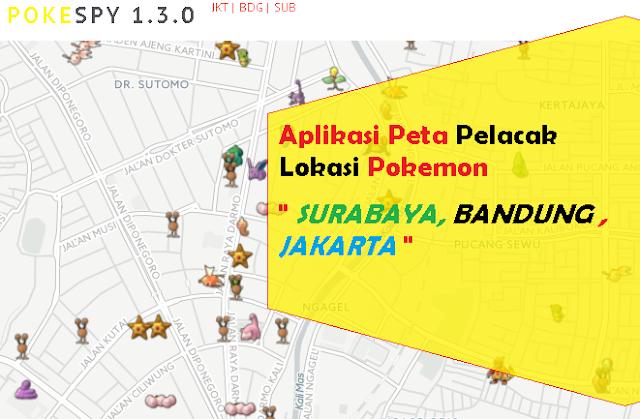 Aplikasi Peta Pencari Lokasi Pokemon