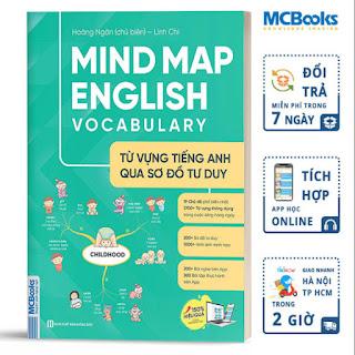 Mind Map English Vocabulary -Từ Vựng Tiếng Anh Qua Sơ Đồ Tư Duy - Giải Pháp Học Từ Vựng Hiệu Quả ebook PDF-EPUB-AWZ3-PRC-MOBI