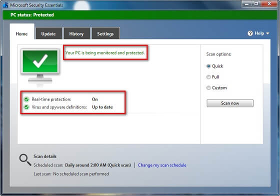 Windows Computer Ke Liye Best Free Full Version Antivirus (MSE)