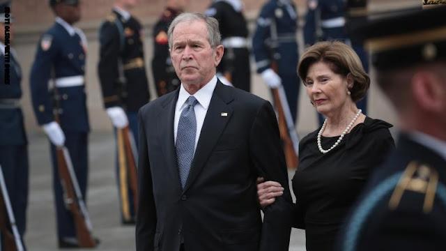جورج بوش يعلق على وفاة السلطان قابوس: كان قوة استقرار في الشرق الأوسط