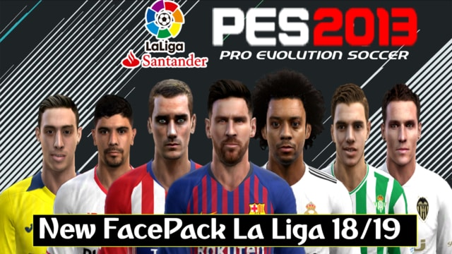 PES 2013 New Facepack Patch For Season 2018/19