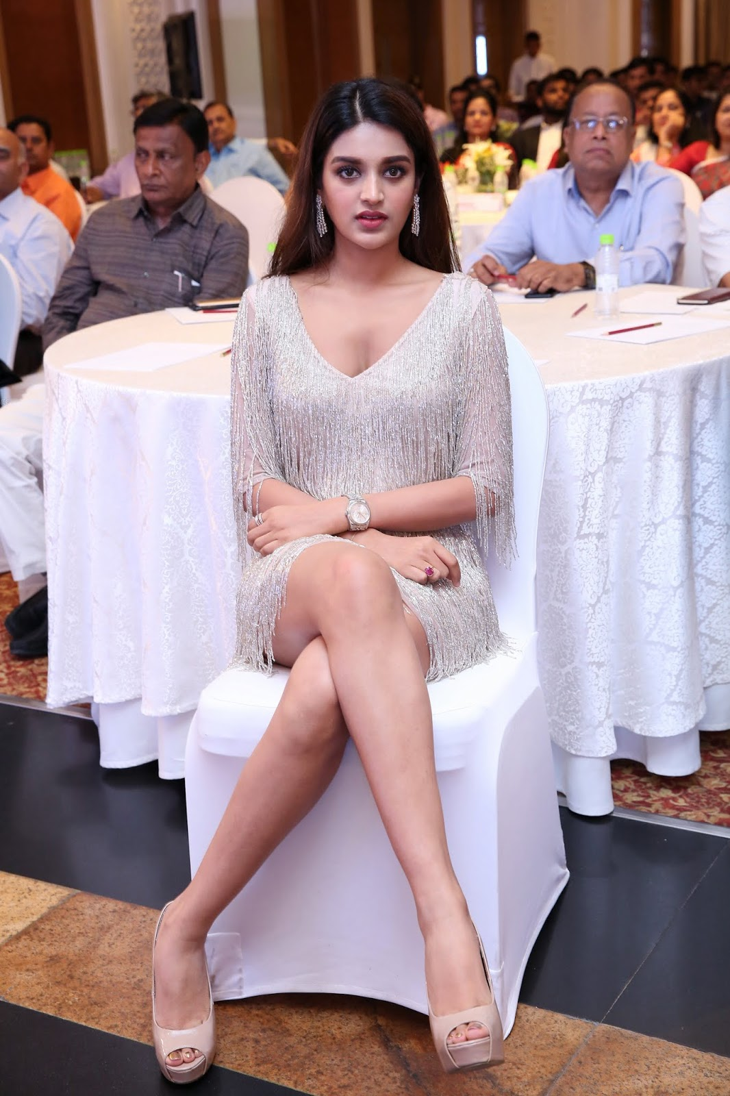 Niddhi Agerwal looks stunning sparkling at JITO Youth Wing Grand Ceremony