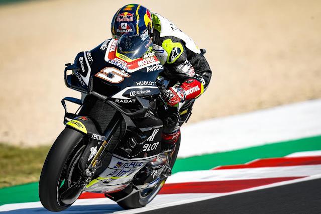 Zarco Tercepat di FP2 MotoGP Catalunya, Marquez Posisi 15, Rossi Urutan 19.lelemuku.com.jpg
