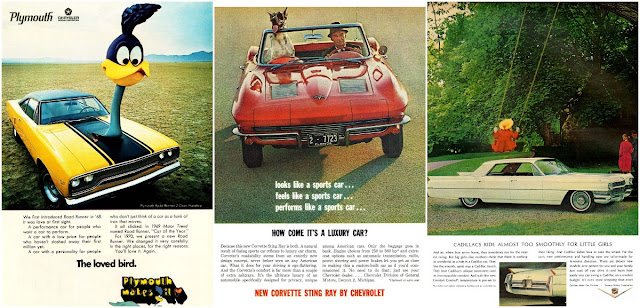 10 Eccentric Vintage Car Ads From the 1960s and 1970s