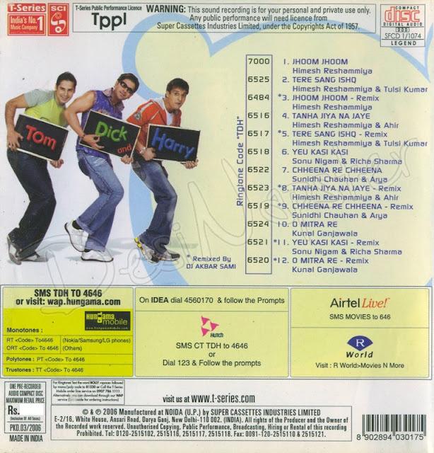 Download Tom Dick & Harry [2006-MP3-VBR-320Kbps] Review