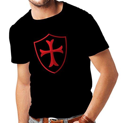 T-shirt pour hommes Templiers