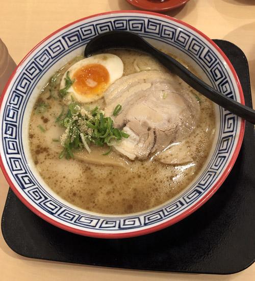 麺旋風 焦がしニンニク豚骨ラーメン