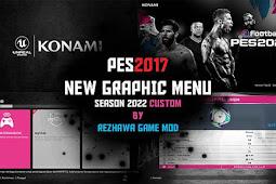 New Graphic Menu Season 2022 Custum - PES 2017