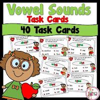 Vowel Sound Task Cards