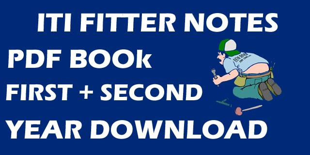 Fitter Books Notes Pdf Download