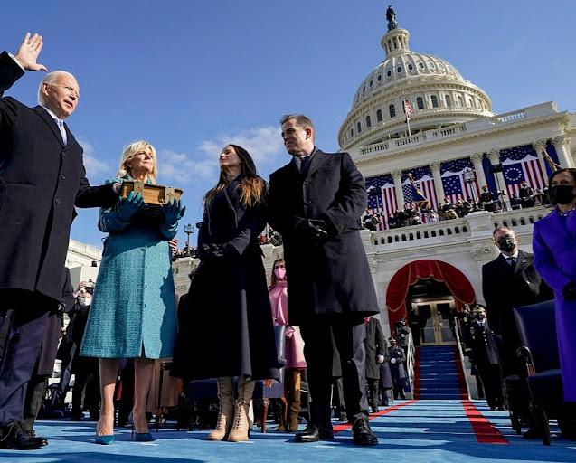 Finally Joe Biden has been sworn in as the 46th president of America