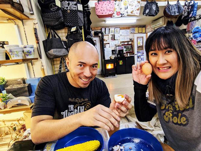 Nagano Nozawaonsen Onsen Tamago Eggs Corn
