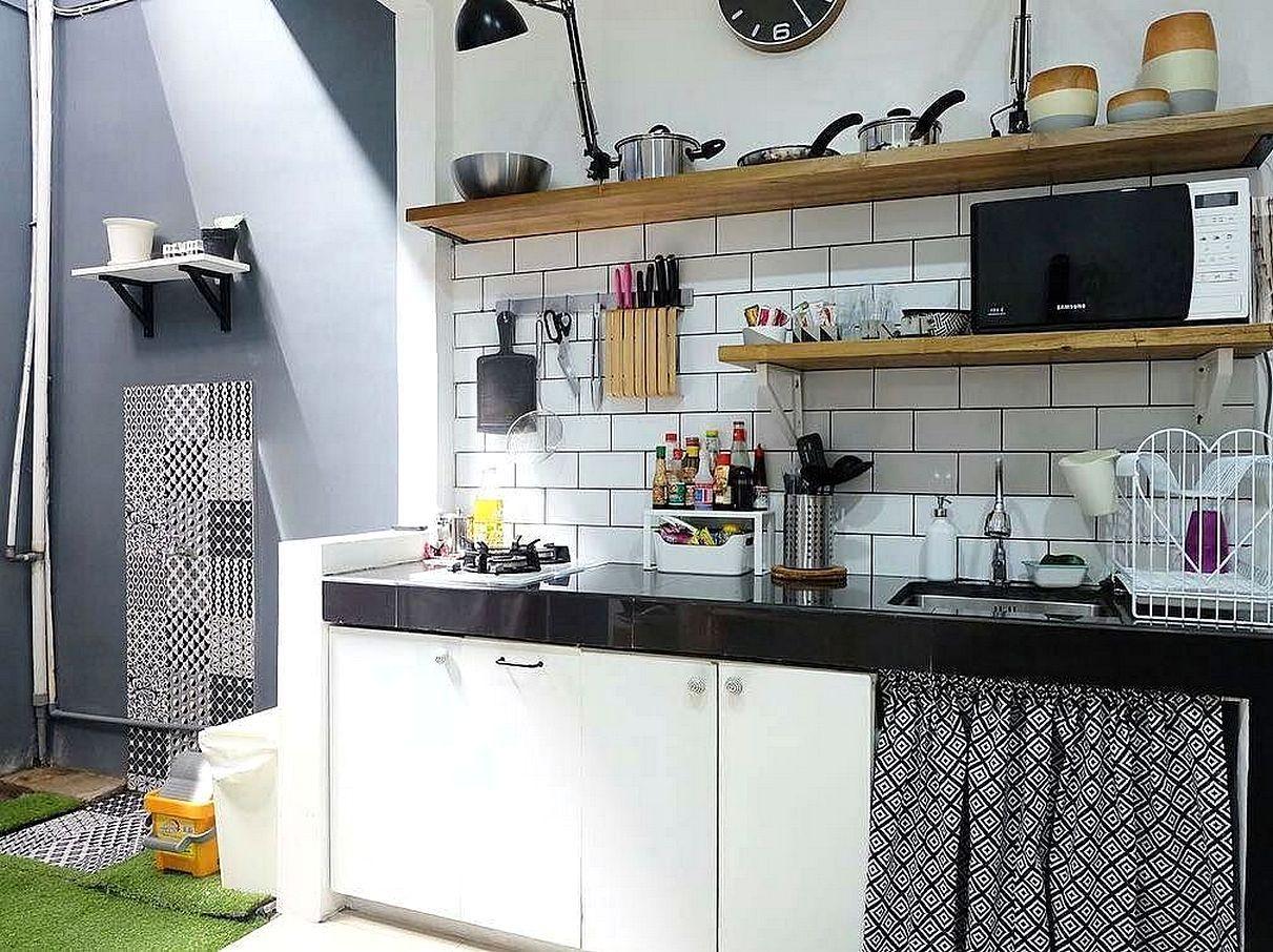 10 Desain Dapur Murah Minimalis Sederhana Dan Unik Desarumah Com