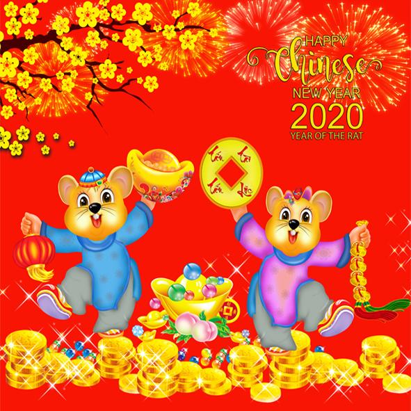 Stock vector 2020