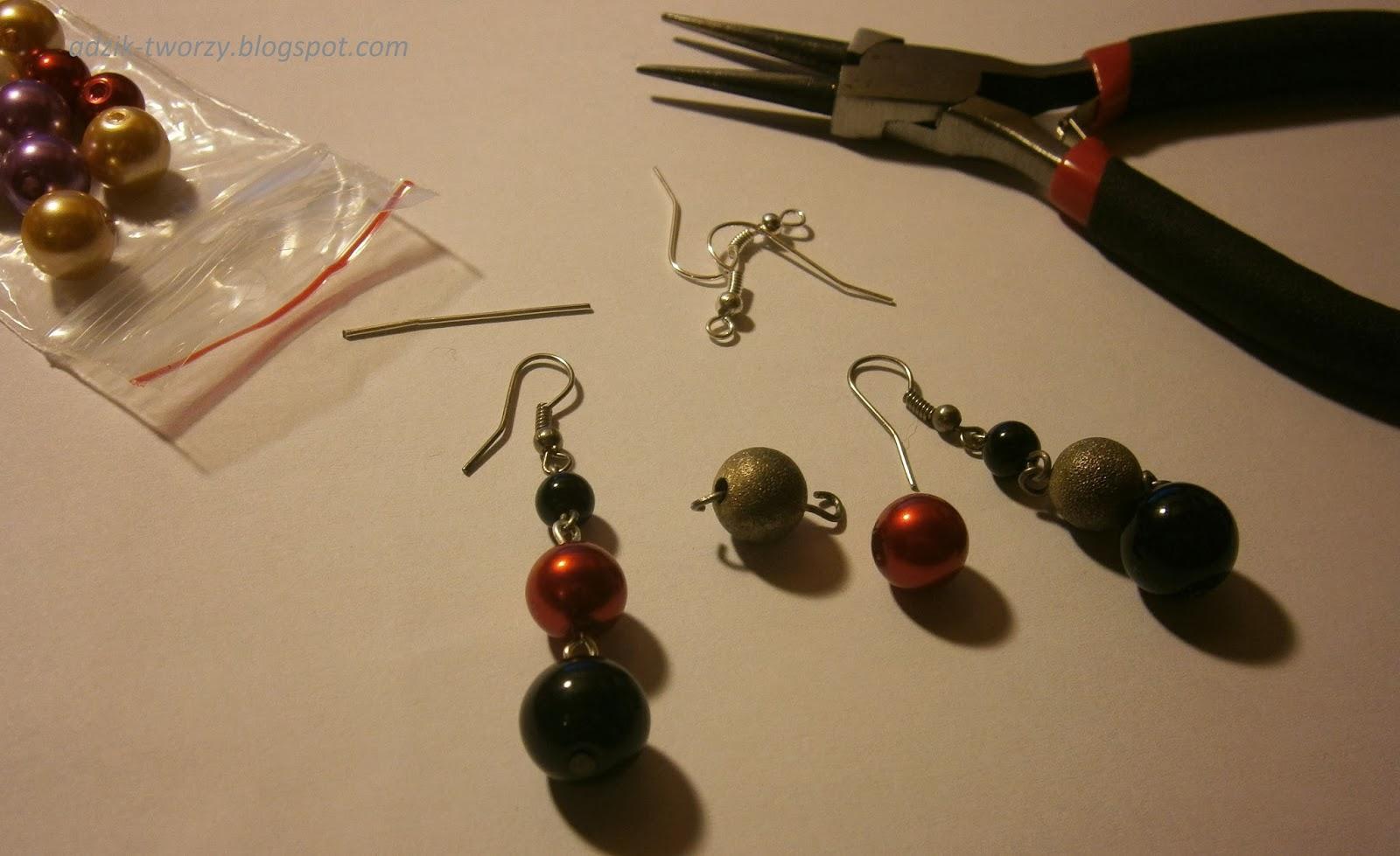 DIY: Odświeżanie starych kolczyków