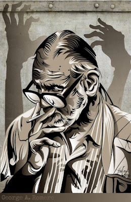 George Romero (artwork by artist Hafter Seyer)