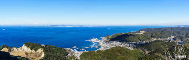 千葉県・鋸山からの景色