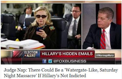 Judge Napolitano predicts Hillary indictment -- again