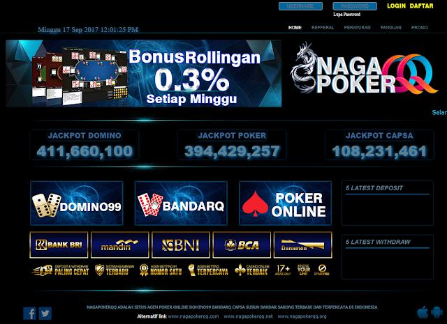 NAGAPOKERQQ Situs Agen Judi Poker Online Terpercaya