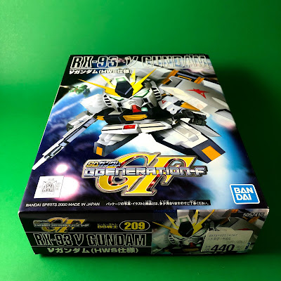 G Generation-F SD BB Senshi RX-93 Nu Gundam Box Art