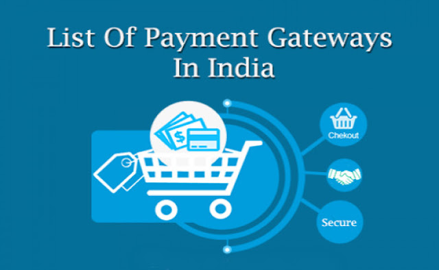 list of Payment Gateways in India