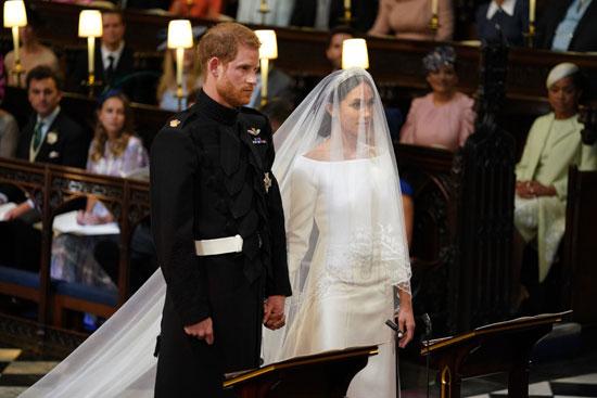 """""""الأمير هاري"""" و""""ميغان ماركل"""" زوجا وزوجة فى حفل ملكى وأسطورى والملكة إليزابيث تمنح الأمير لقب دوق ساسكس"""