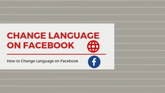 How To Change Language In Facebook Setting<br/>