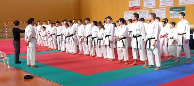 Ángel Ramiro, curso de kumite deportivo, karate, kumite, kidokan