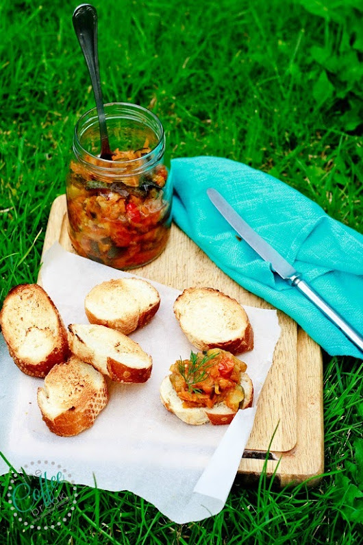 Courgette and Aubergine Chutney