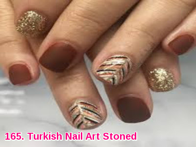 Turkish Nail Art Stoned