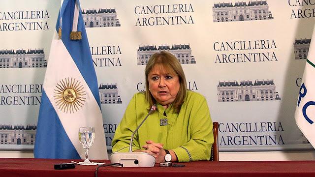 La canciller de Argentina, Susana Malcorra, abandona su cargo