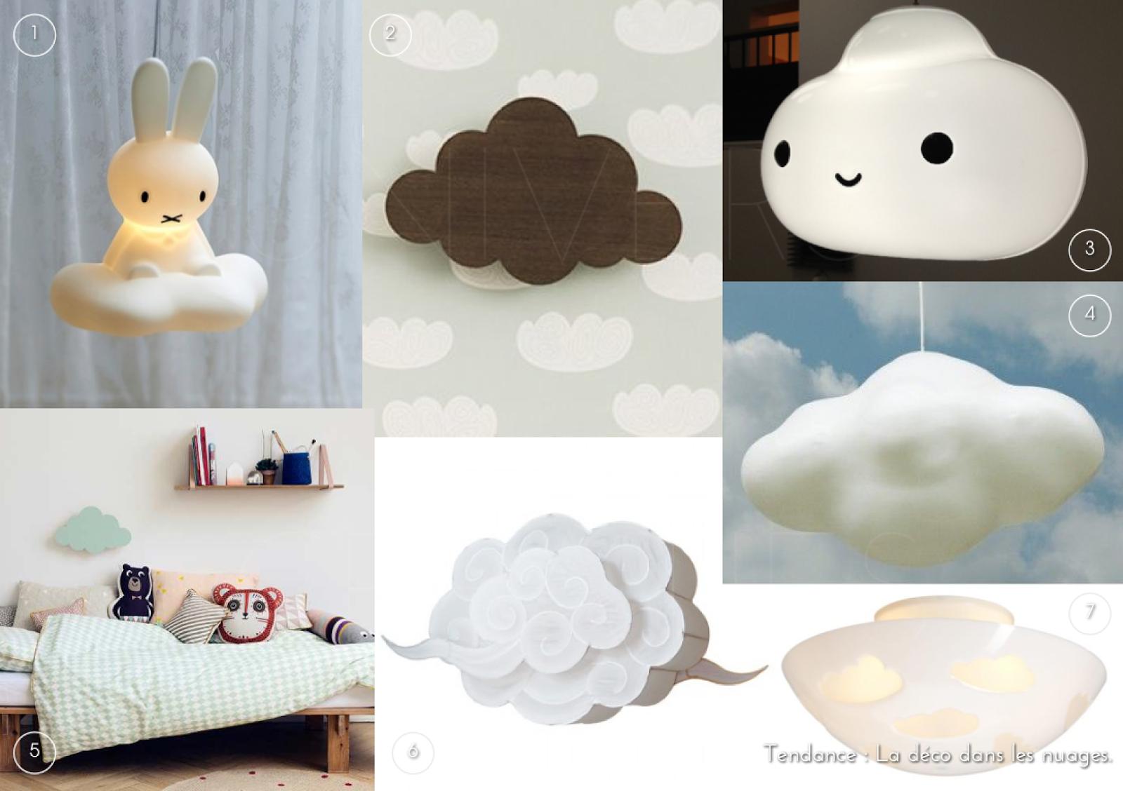 plafonnier nuage. Black Bedroom Furniture Sets. Home Design Ideas