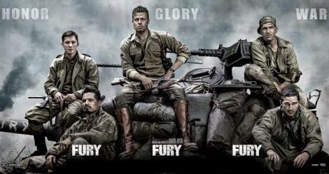 FURY NEW RELEASE MOVIE -2014