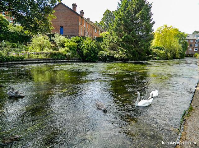 River Walk, Winchester, Inglaterra