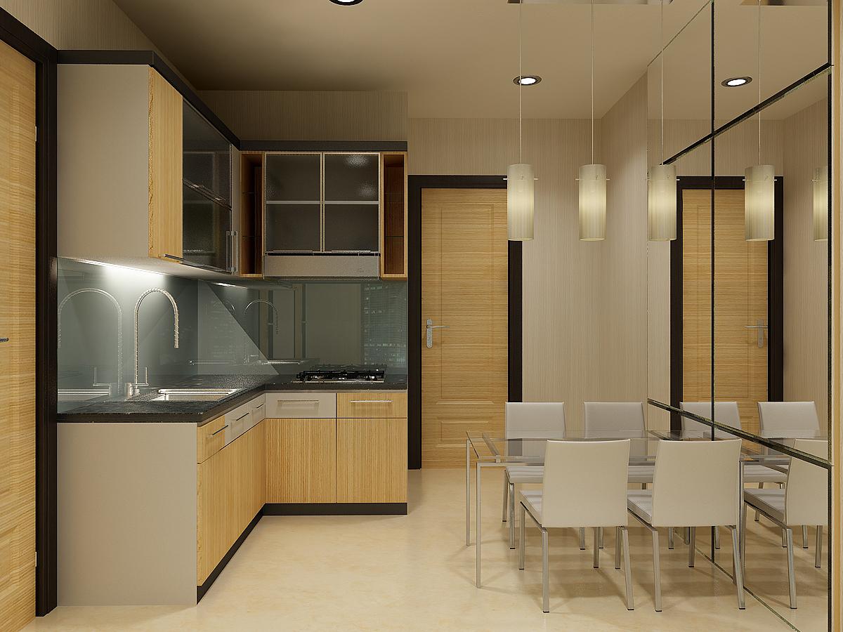 Bentuk Desain Dapur Modern Minimalis Untuk Rumah Yang Bergaya