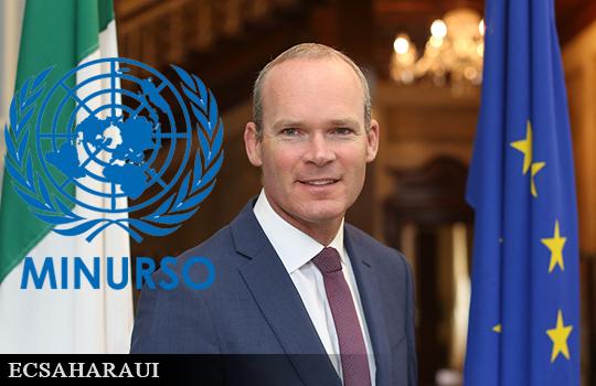 Irlanda refuerza su apoyo a los esfuerzos de las Naciones Unidas para descolonizar el Sáhara Occidental.