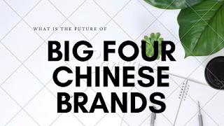 big four chinese brands oppo vivo xiaomi oneplus