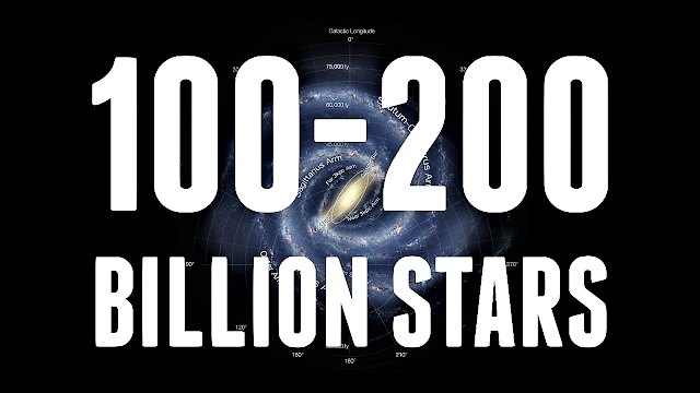 How many stars are in our galaxy?