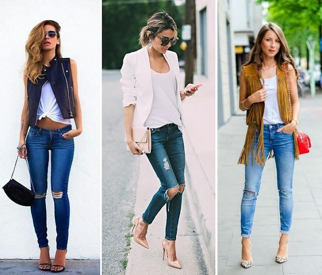 Jeans Rasgado nos Joelhos