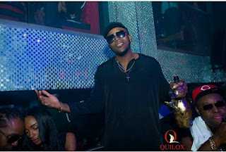 Wizkid, Timaya, 2Baba, Skales & Sound Sultan Hang Out At Quilox Club
