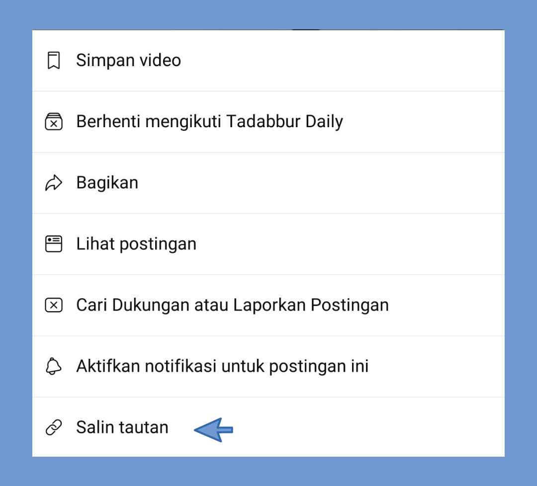 Cara menyimpan video facebok di hp android